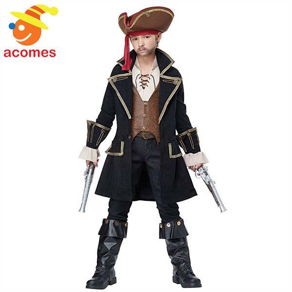 海賊 パイレーツ キャプテン コスプレ 子供 コスチューム ハロウィン 衣装 イベント 仮装 パーティー