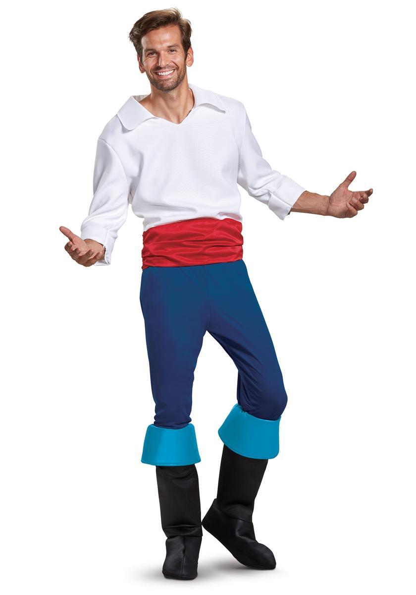 ディズニー コスチューム 大人 エリック 王子 コスプレ リトル マーメイド 衣装 ハロウィン 仮装 イベント パーティー
