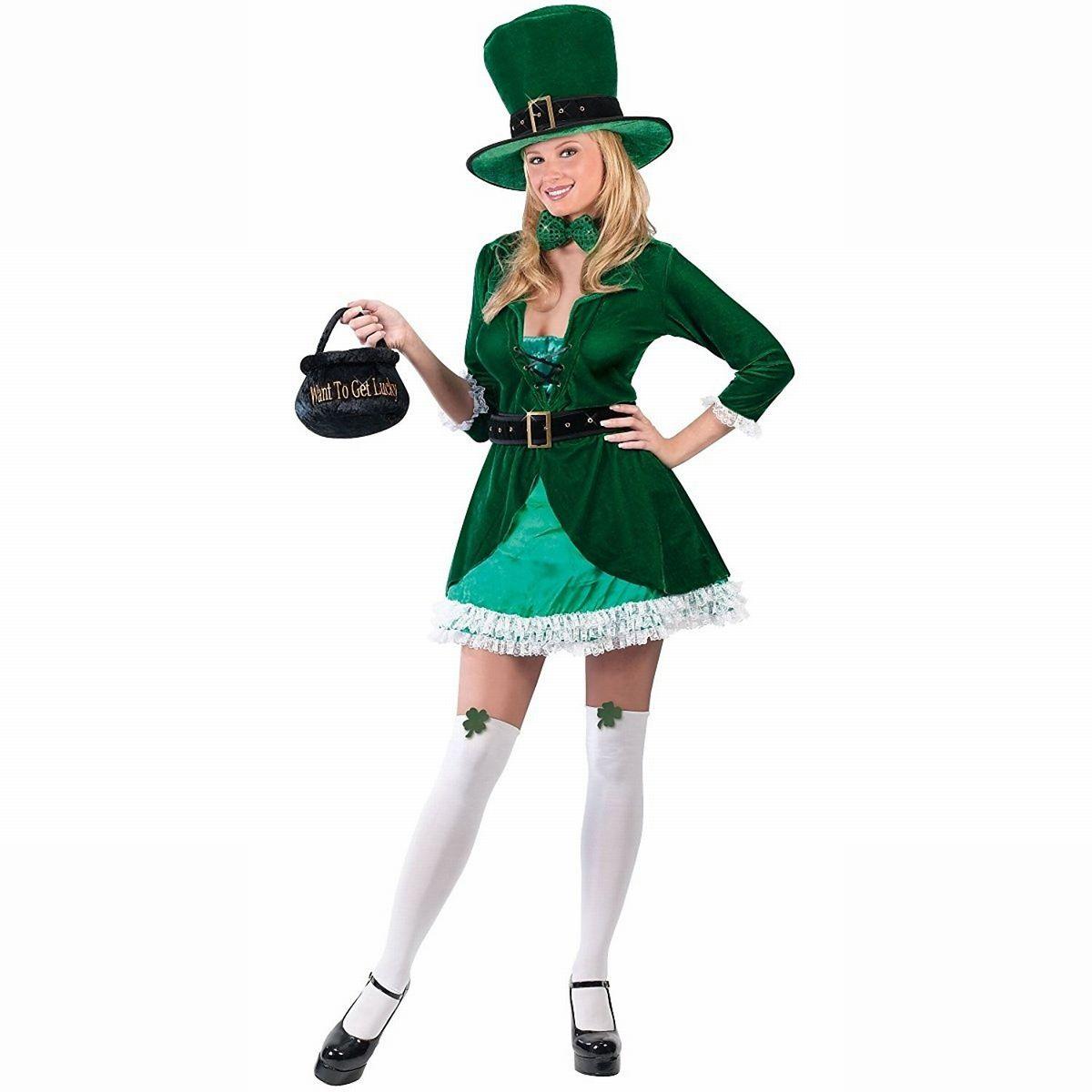 セクシー レプラコーン コスチューム セントパトリックスデー コスプレ 仮装 大人 女性 レディース アイルランド 民族衣装 聖パトリックの祝日