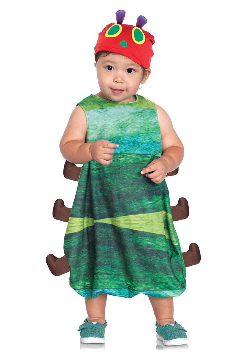 ベビー コスプレ 赤ちゃん いもむし コスチューム きぐるみ 仮装 Leg Avenue