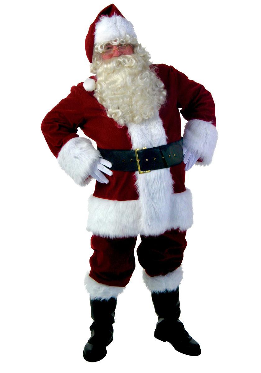 サンタクロース コスチューム 大人 メンズ コスプレ 大きいサイズ 本格的 衣装 クリスマス 仮装 海外