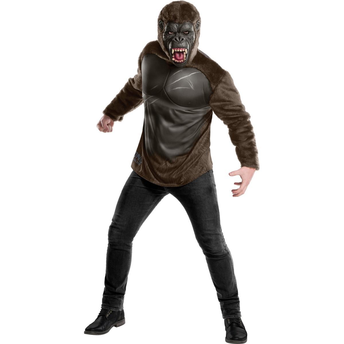 ゴリラ コスチューム 大人 仮装 キングコング コスプレ ハロウィン 動物 衣装