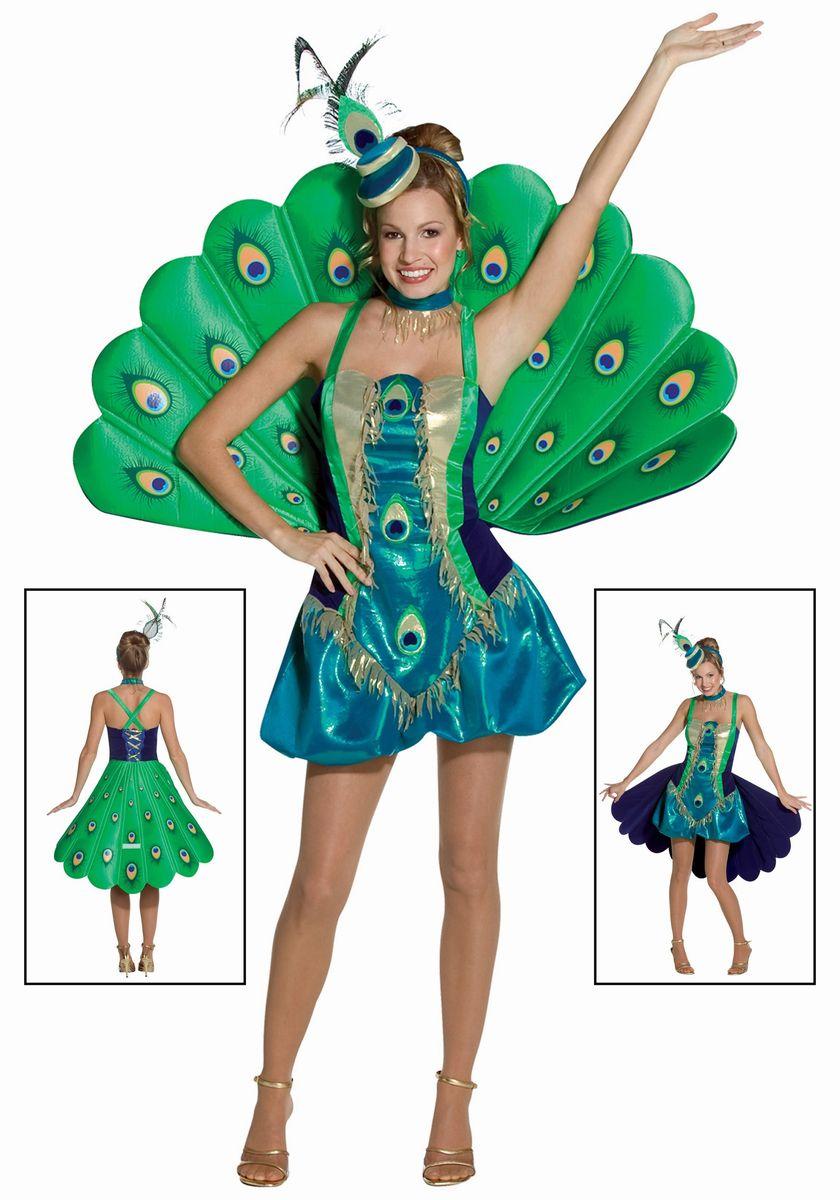 孔雀 クジャク コスチューム 衣装 緑 セクシー コスプレ 大人 女性 レディース 鳥 仮装