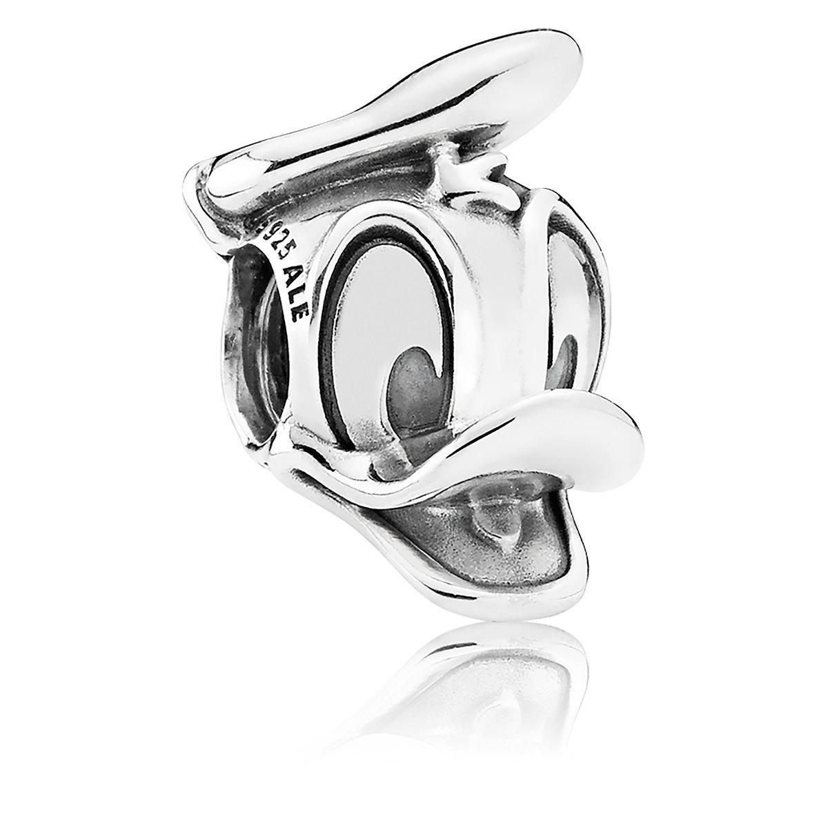 ドナルドダック チャーム ディズニー ジュエリー アクセサリー スターリング銀製 PANDORA ブレスレット WDW グッズ