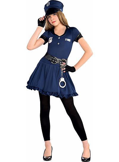 子供 女の子 警察 警官 ポリス コスプレ コスチューム 制服 衣装 ガールズ キッズ ハロウィン 仮装