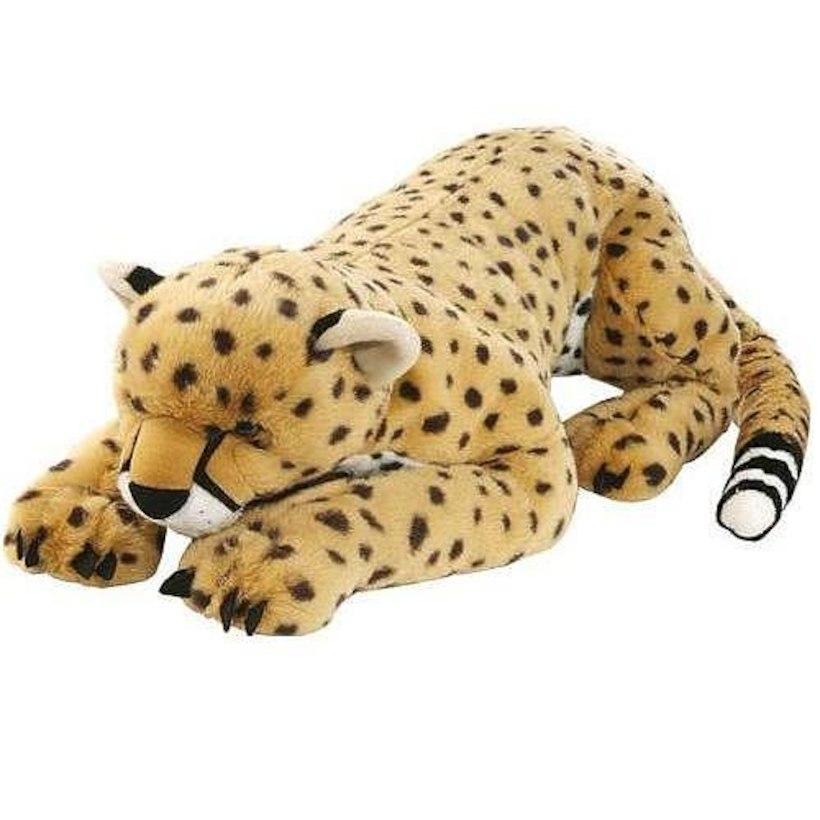 チーター ヒョウ 大きい ぬいぐるみ 76cm 動物 抱き枕 インテリア