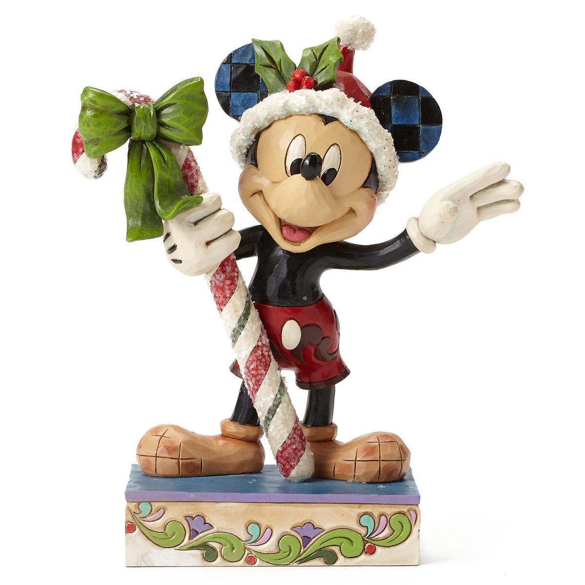 ジムショア ディズニー フィギュア ミッキーマウス サンタクロース クリスマス インテリア ギフト
