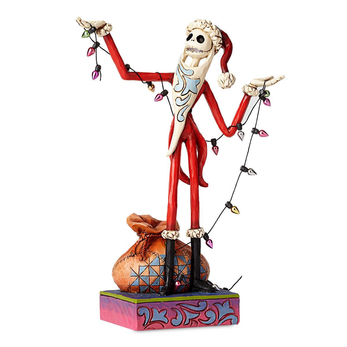 ジムショア ディズニー フィギュア ナイトメアービフォアクリスマス ジャックスケリントン サンタクロース クリスマス インテリア ギフト