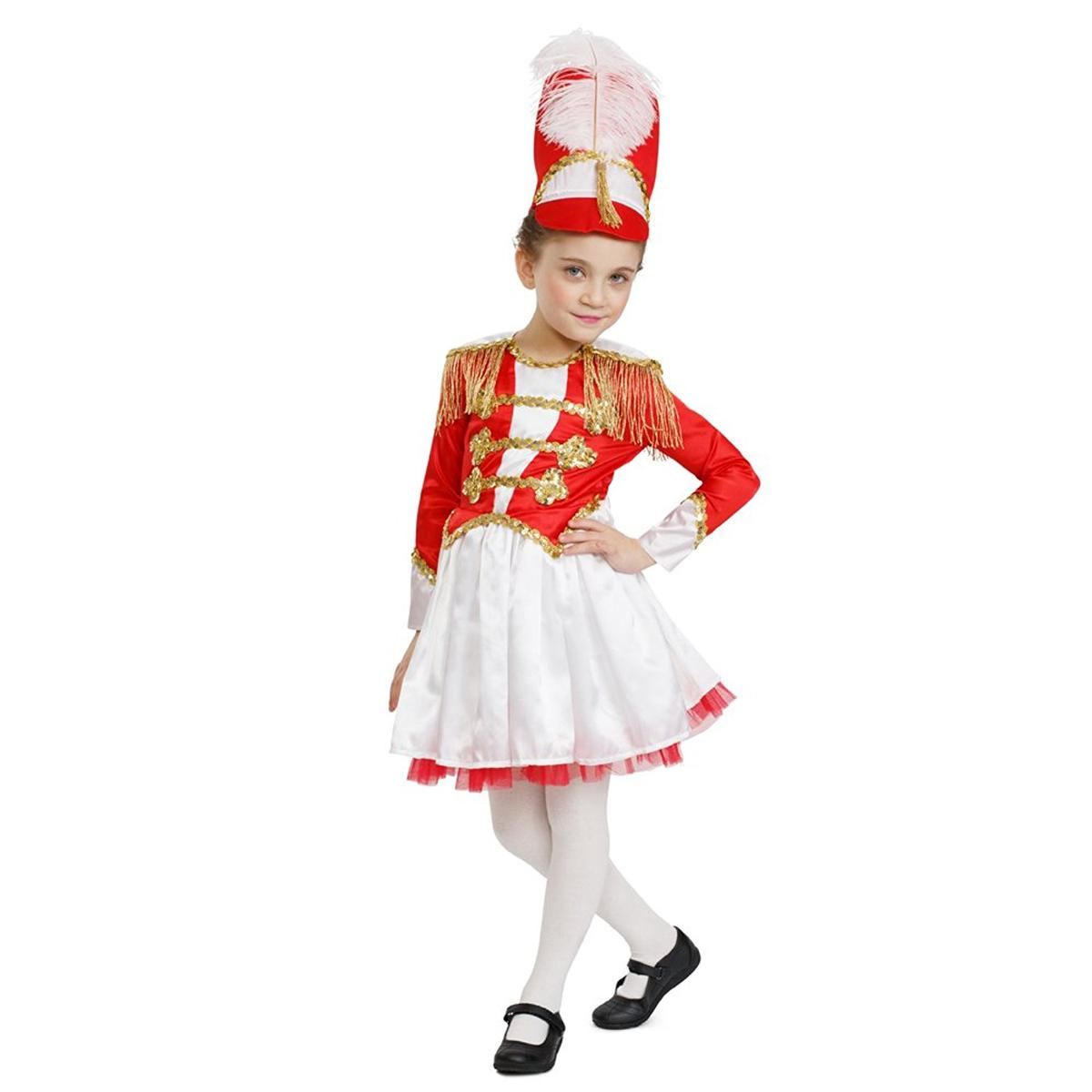 マーチングバンド 楽隊長 リーダー バトンガール 衣装 コスチューム 子供 女の子