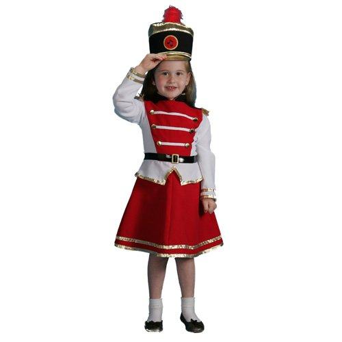 バトンガール 衣装 マーチングバンド 楽隊長 リーダー コスチューム 子供 女の子