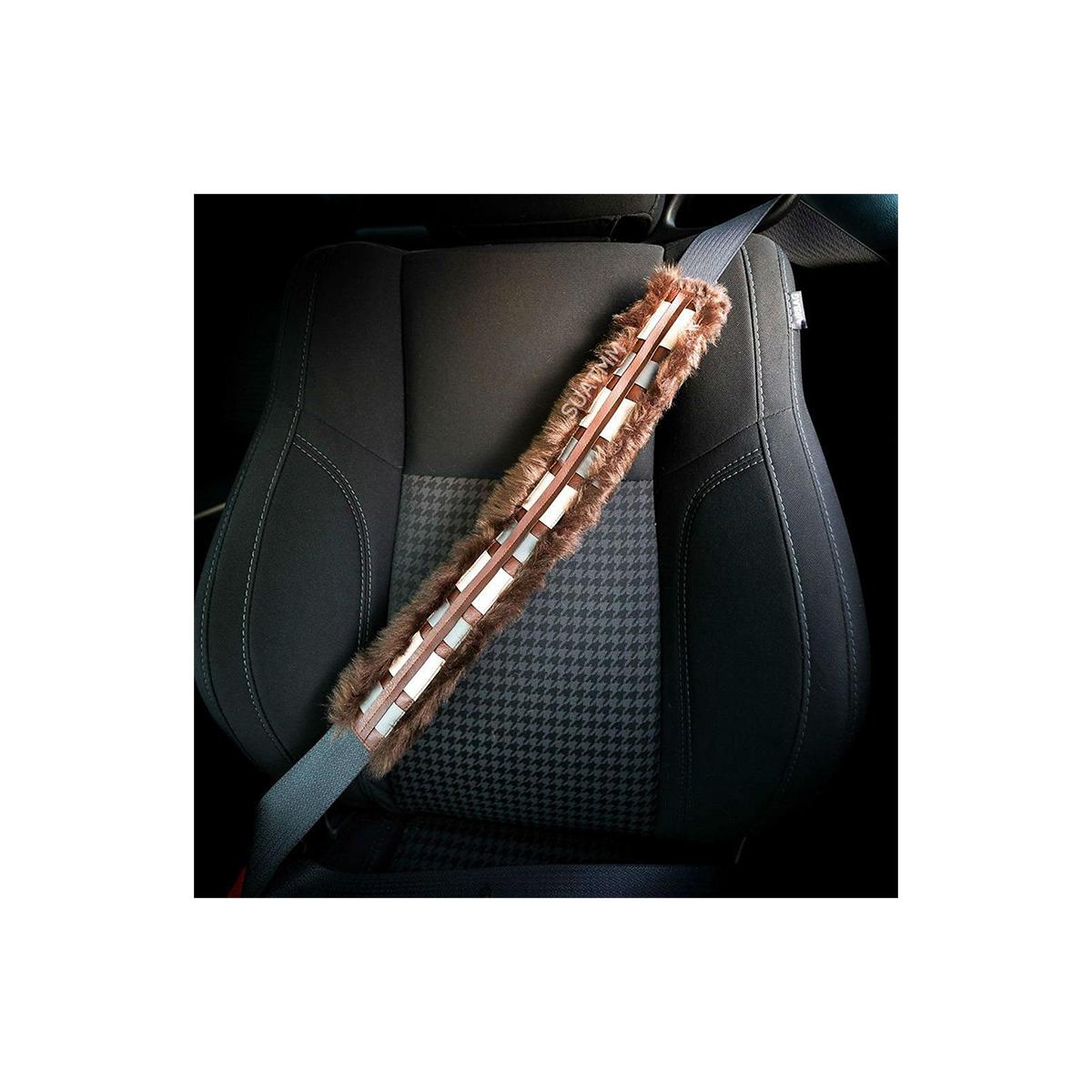 シートベルト カバー パッド スターウォーズ チューバッカ かばん ストラップ 車 装飾 デコレーション おもしろい グッズ