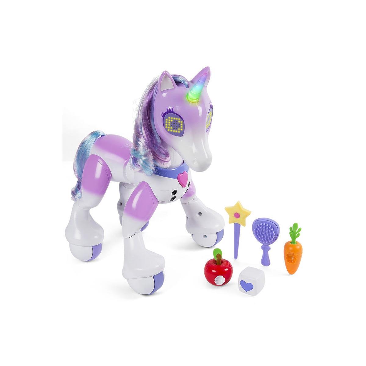 電子 電動 おもちゃ 動物 ロボット 人形 ユニコーン ズーマー 海外