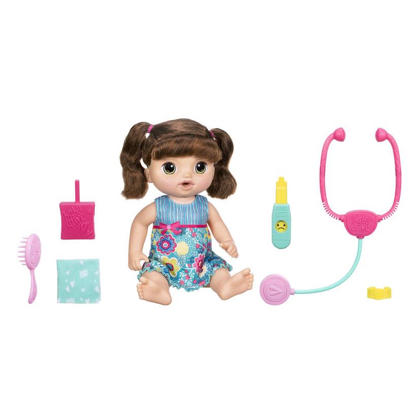 女の子 赤ちゃん 人形 ベビードール Sweet Tears Baby 青 海外 おもちゃ 話す 英語 スペイン語 学習