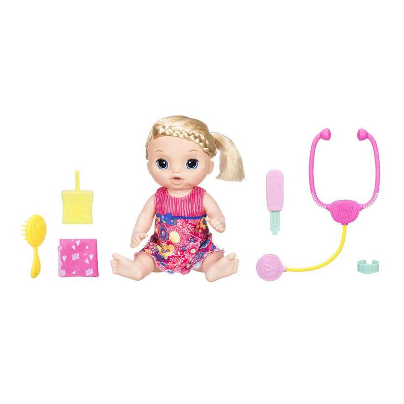 女の子 赤ちゃん 人形 ベビードール Sweet Tears Baby 赤 海外 おもちゃ 話す 英語 スペイン語 学習