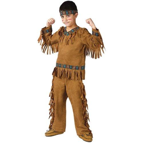 コスプレ 子供 衣装 幼児 人気 インディアン 男の子用 コスチューム ネイティブアメリカン ハロウィン コスチューム・