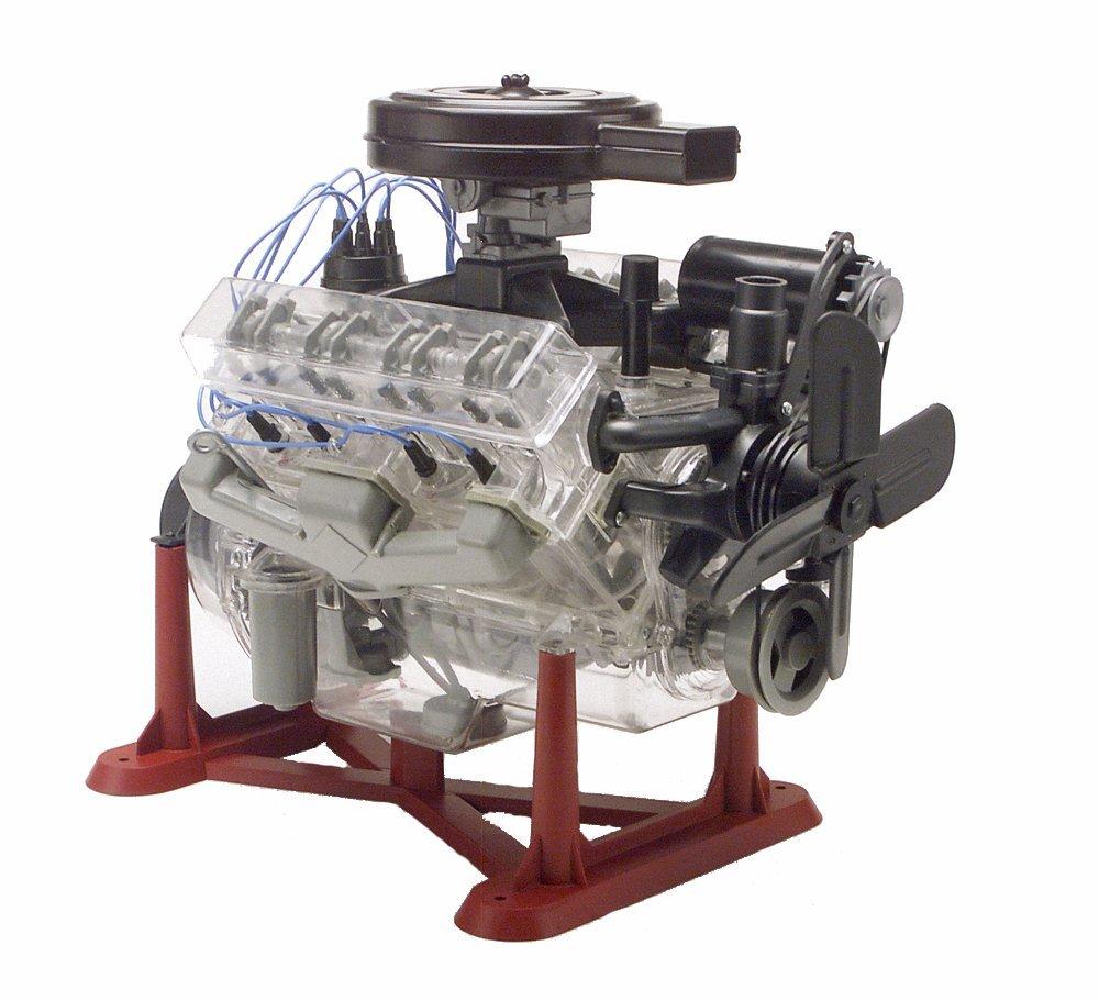 プラモデル V8エンジン 組み立て 1/4スケール 動く おもちゃ 子供 科学玩具 知育玩具 サイエンストイ 機械工学 学習