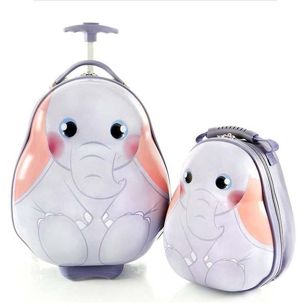 Heys ヘイズ スーツケース キャリーバッグ リュックサック セット 動物 ゾウ 子供 旅行 かばん 機内持ち込み