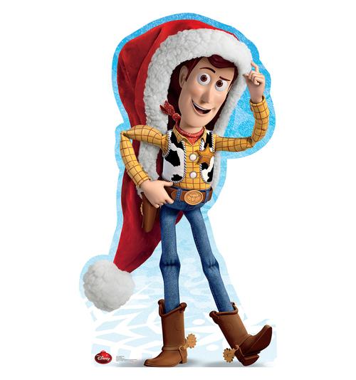 トイストーリー ウッディ サンタクロース 等身大 パネル クリスマス 飾り インテリア デコレーション