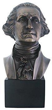 アート インテリア 飾り 彫刻 オブジェ ブロンズ 銅像 置物 ジョージ ワシントン アメリカ 政治家 大統領