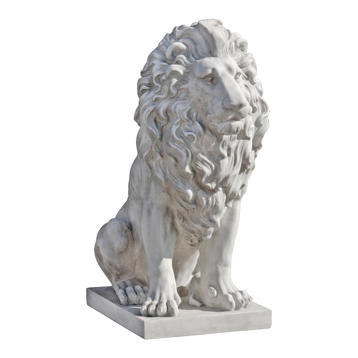アート インテリア 飾り 彫刻 オブジェ 石像 置物 ライオン