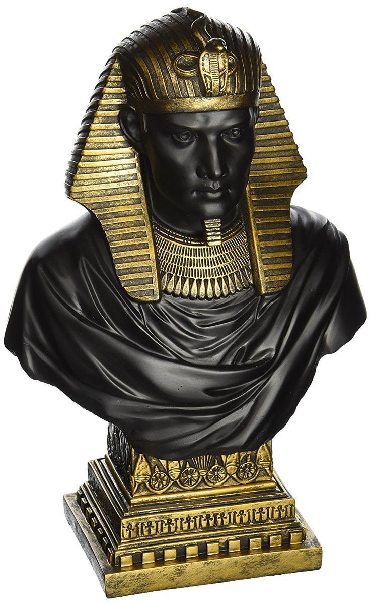 アート インテリア 飾り 彫刻 オブジェ 石像 置物 古代エジプト 王様 ラムセス
