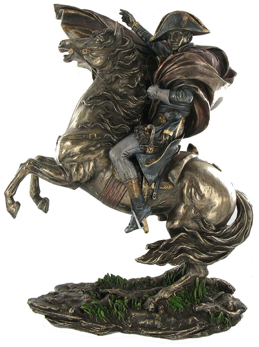 アート インテリア 飾り 彫刻 オブジェ 銅像 置物 ナポレオン ブロンズ