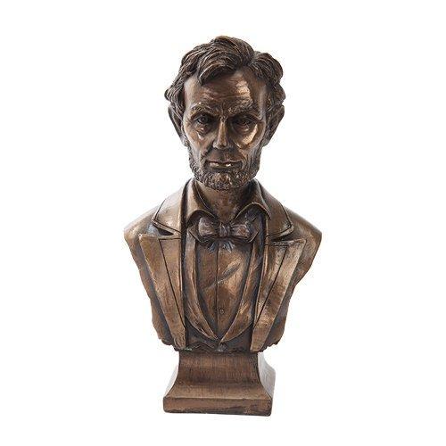 アート インテリア 飾り 彫刻 オブジェ 銅像 置物 リンカーン ブロンズ アメリカ 政治家 大統領