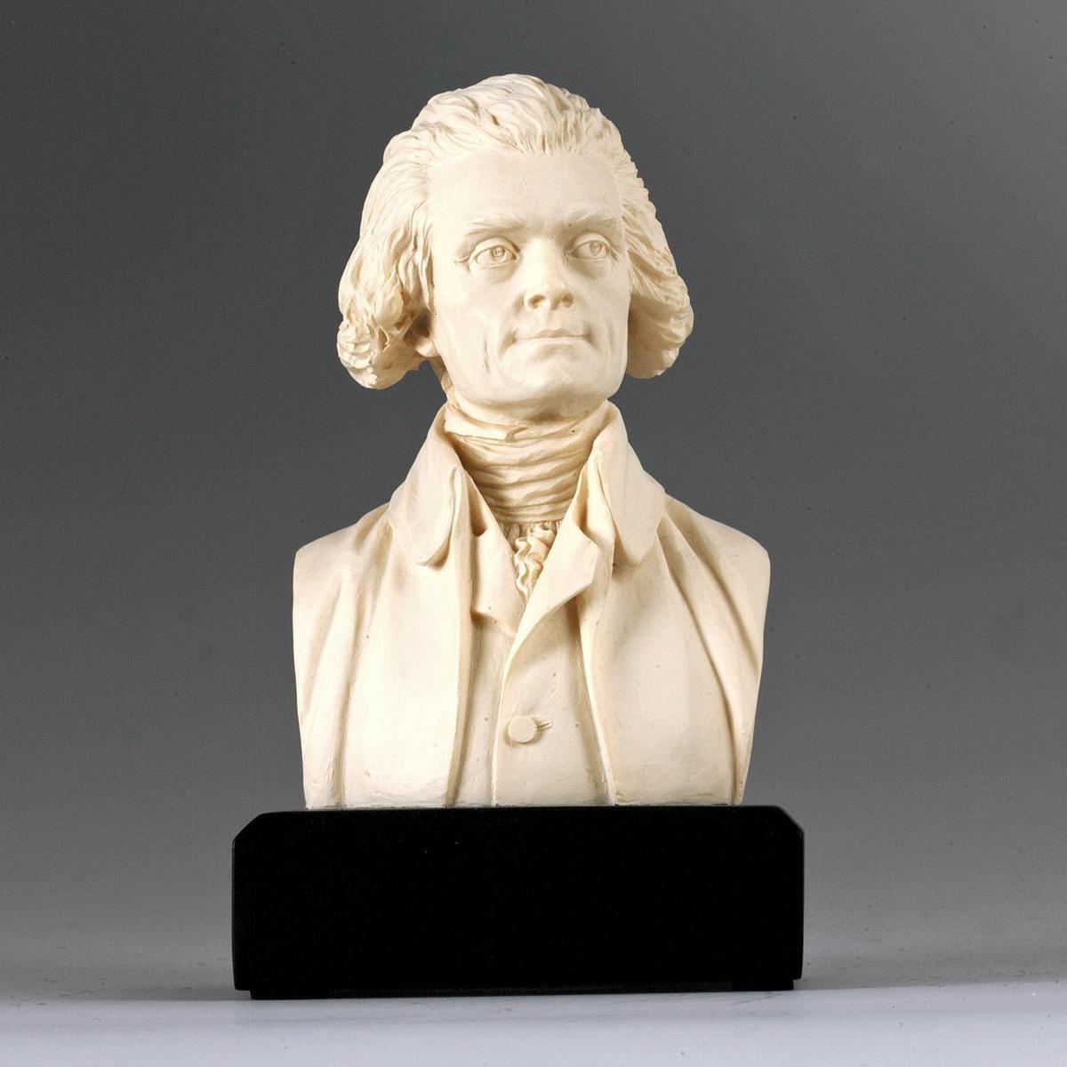 アート インテリア 飾り 彫刻 オブジェ 石像 置物 トーマス・ジェファーソン アメリカ 政治家 大統領