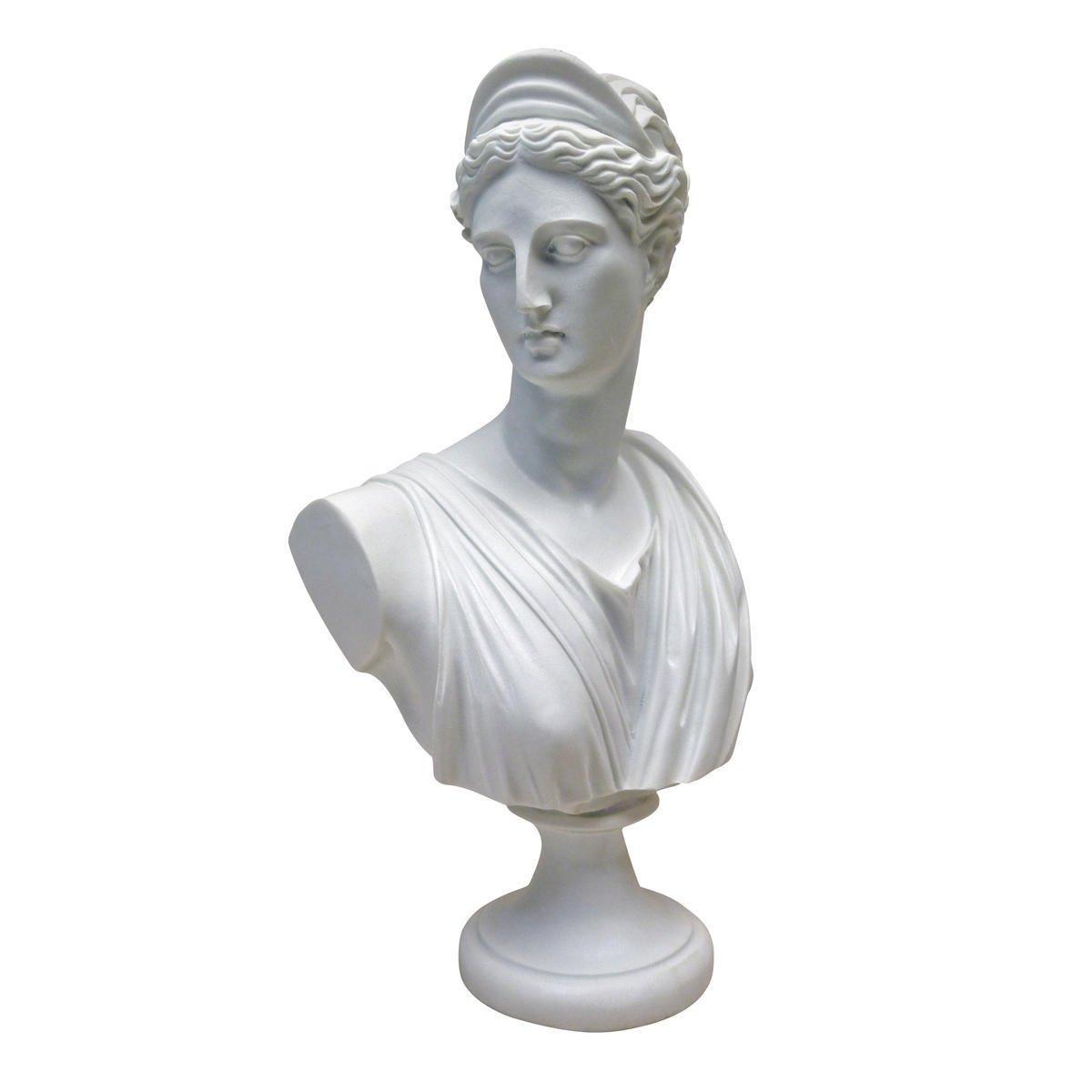 アート インテリア 飾り 彫刻 オブジェ 石像 置物 ギリシャ神話 ダイアナ