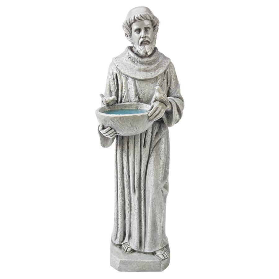 フランシスコ ザビエル アート 彫刻 ホーム インテリア エクステリア 屋外 庭 ガーデン 飾り 石像 オブジェ