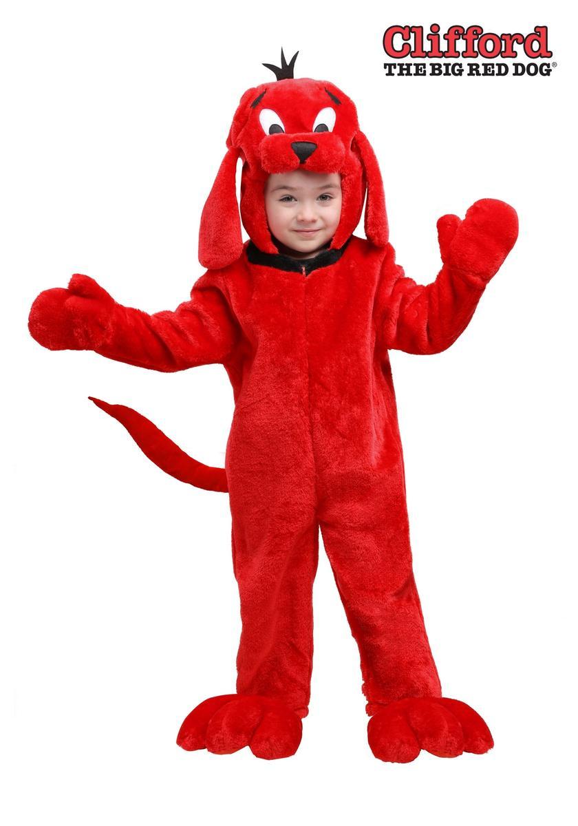 おおきいあかい クリフォード きぐるみ コスチューム 子供 幼児 動物 犬 コスプレ 仮装