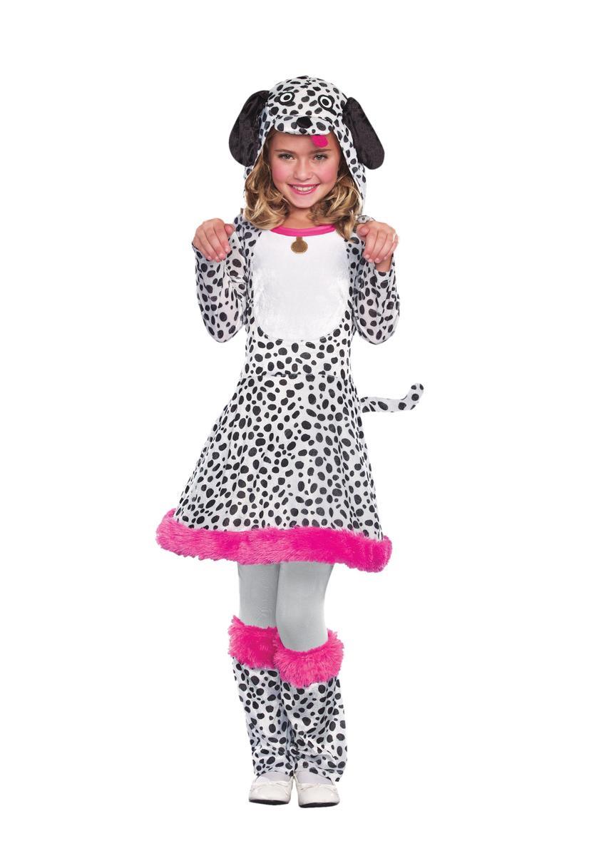 ダルメシアン コスチューム 子供 女の子 動物 犬 コスプレ 仮装