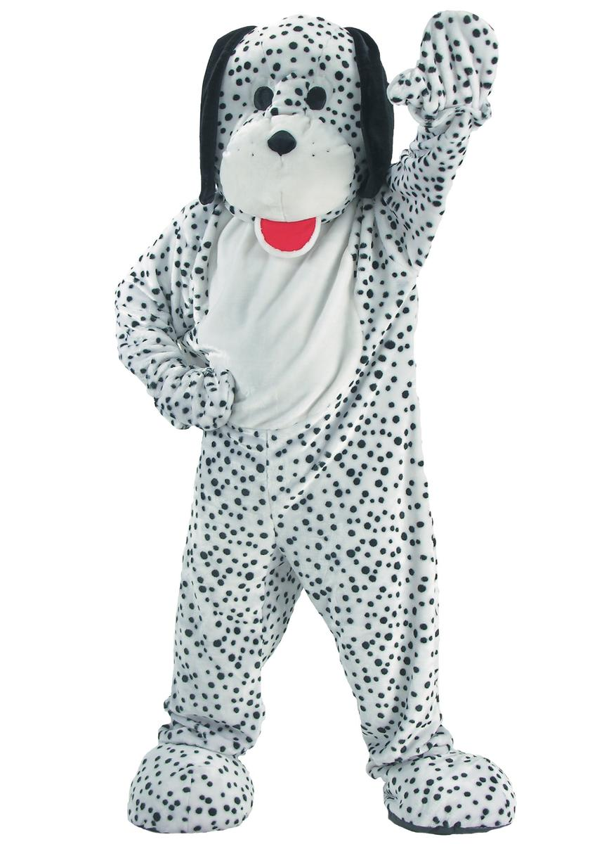 ダルメシアン マスコット 着ぐるみ コスチューム 大人 動物 犬 コスプレ 仮装
