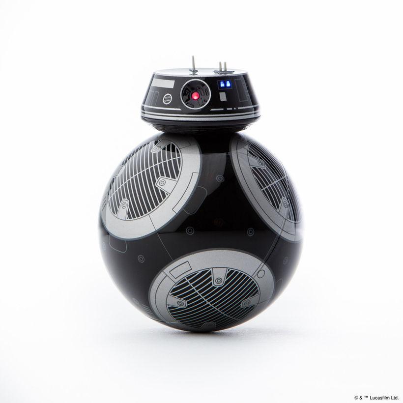 スターウォーズ BB-9E BB-8 黒 スマホ アプリ 操作 コントロール 動く フィギュア おもちゃ 海外版