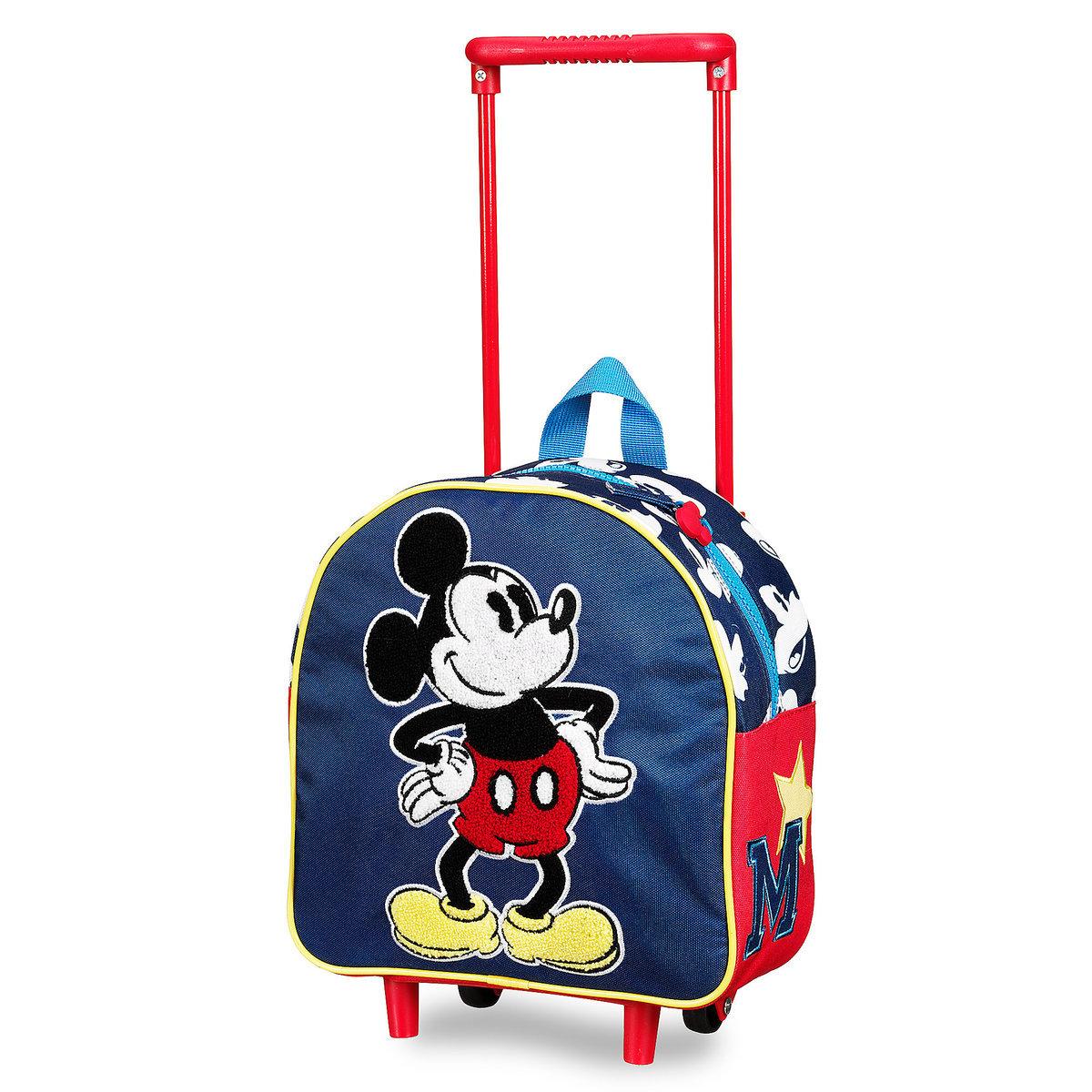 ミッキーマウス 子供 旅行 かばん キャリーバッグ コロコロ ディズニー グッズ