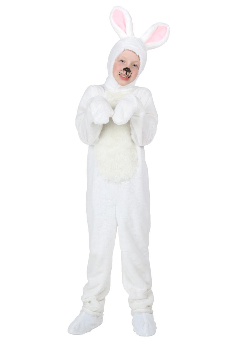 子供 ウサギ コスチューム 白 イースター コスプレ 仮装 きぐるみ