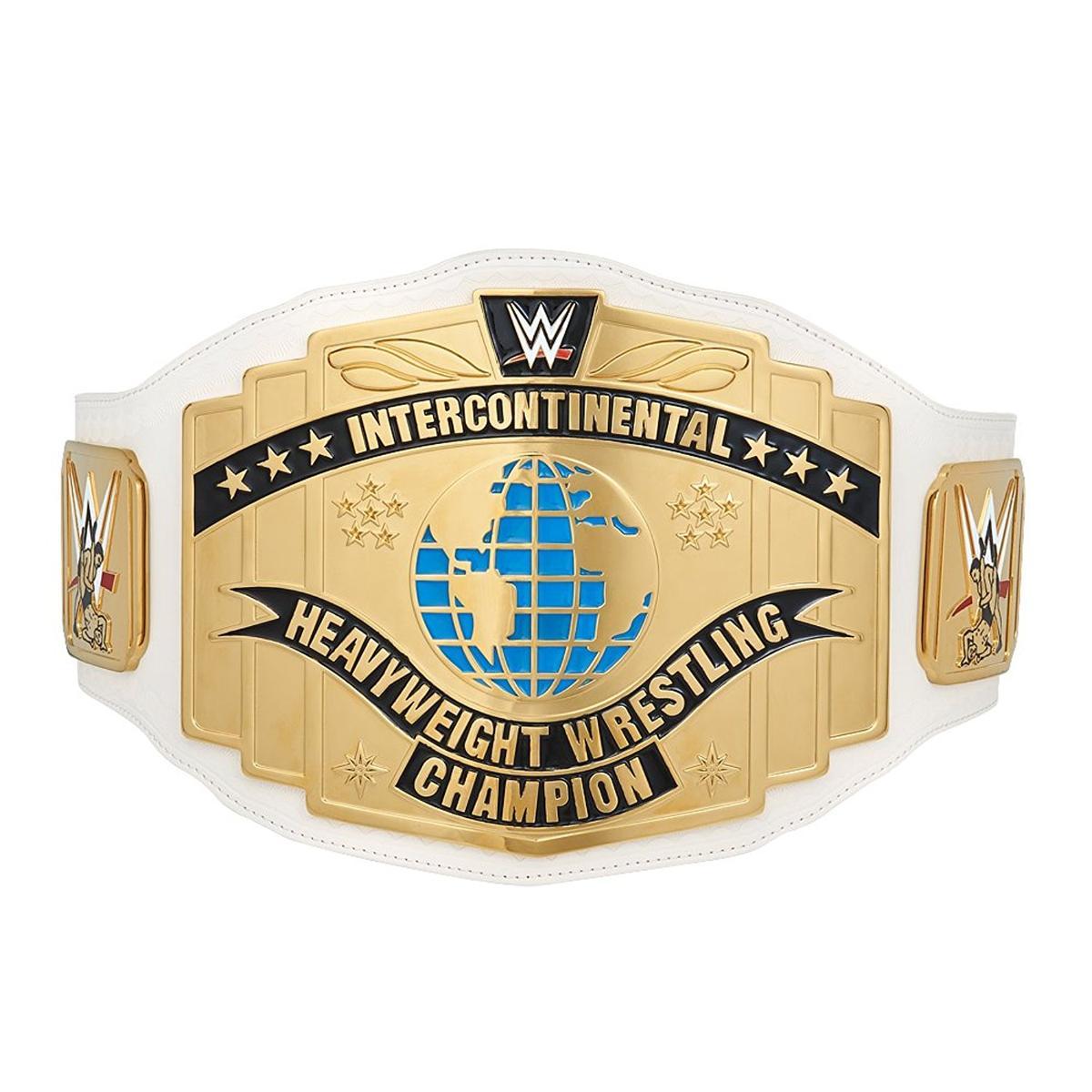 WWE インターコンチネンタル王座 チャンピオンベルト レプリカ 白 2014 アメリカ プロレス グッズ