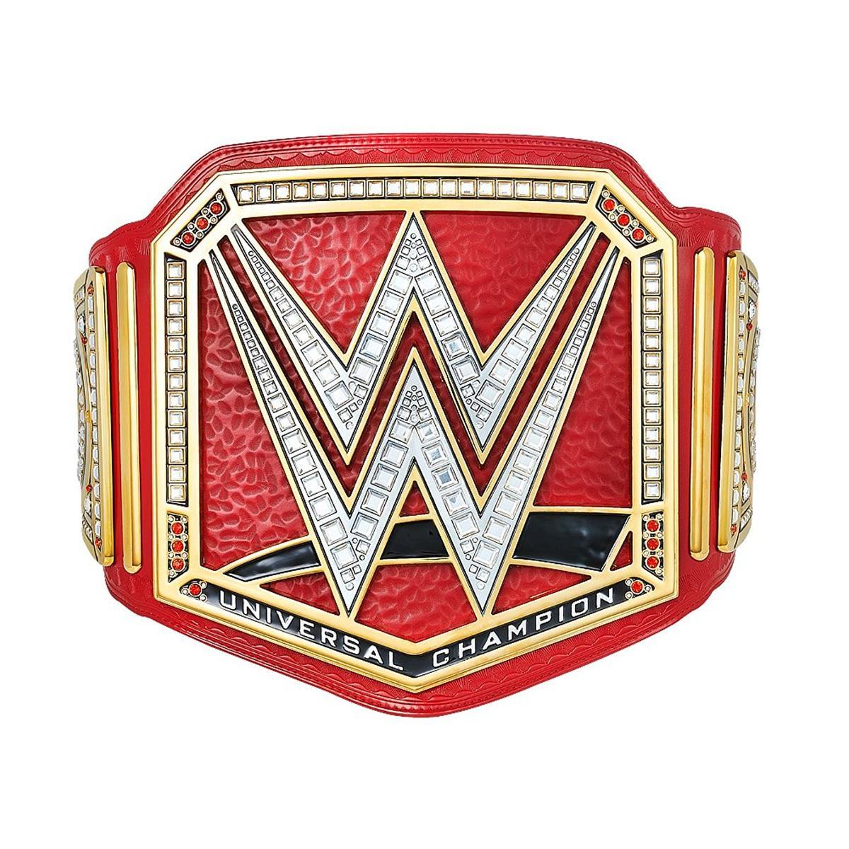 WWE ユニバーサル王座 チャンピオンベルト レプリカ 赤 2014 アメリカ プロレス グッズ