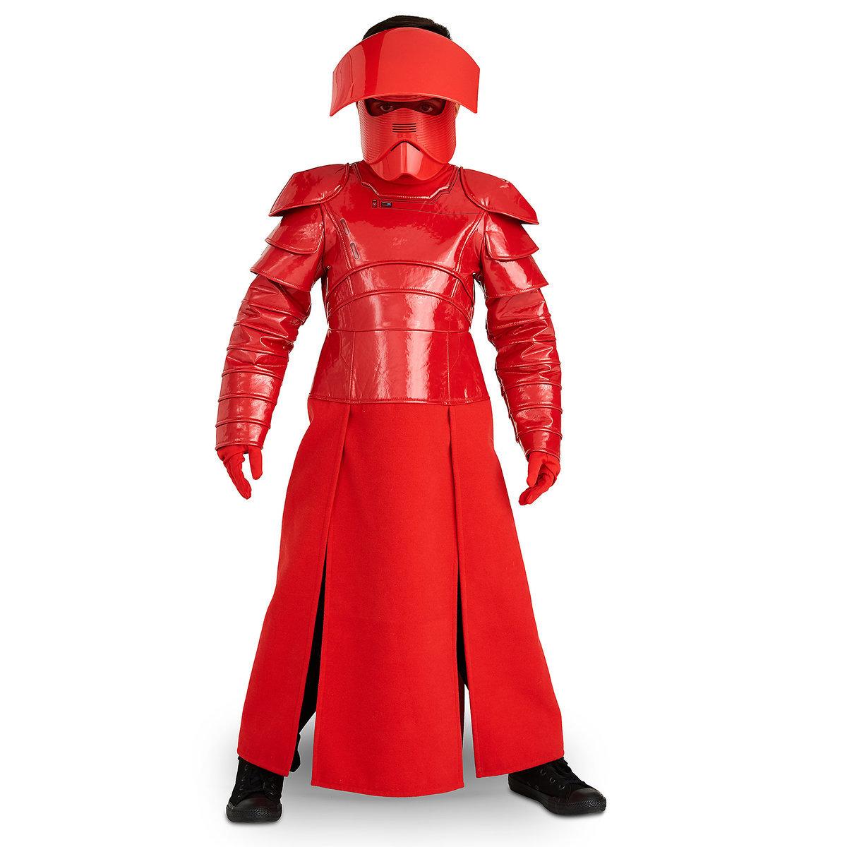プレトリアン ガード 子供 デラックス コスチューム スター ウォーズ 最後のジェダイ コスプレ 衣装