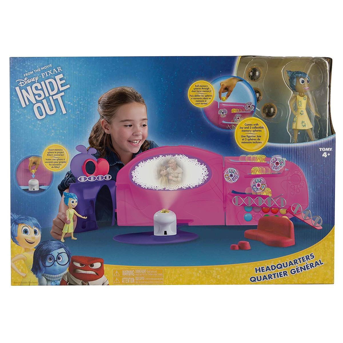 ディズニー ピクサー インサイド・ヘッド おもちゃ ドール ハウス