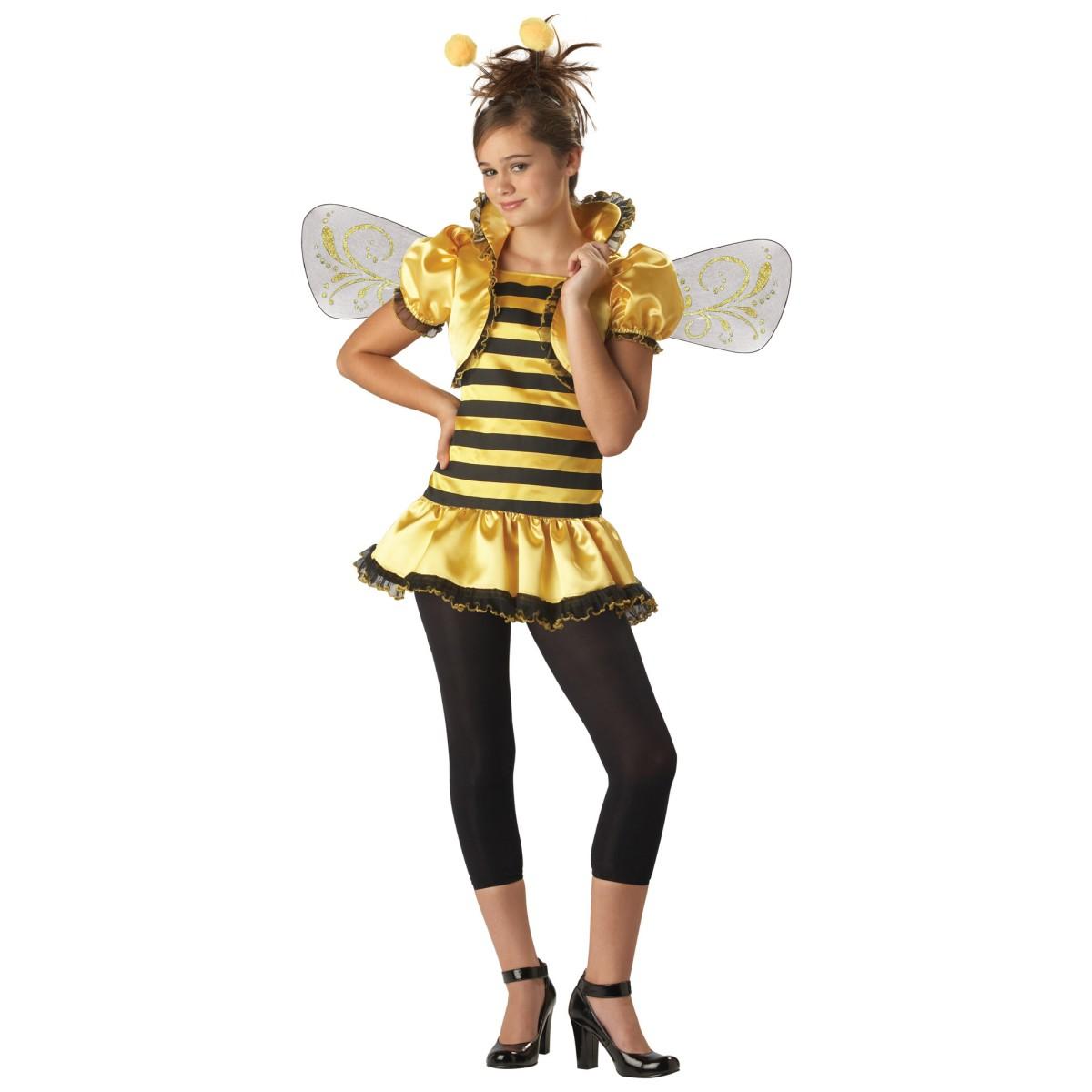みつばち ミツバチ コスチューム 子供 女の子 大人 女性 昆虫 コスプレ 仮装