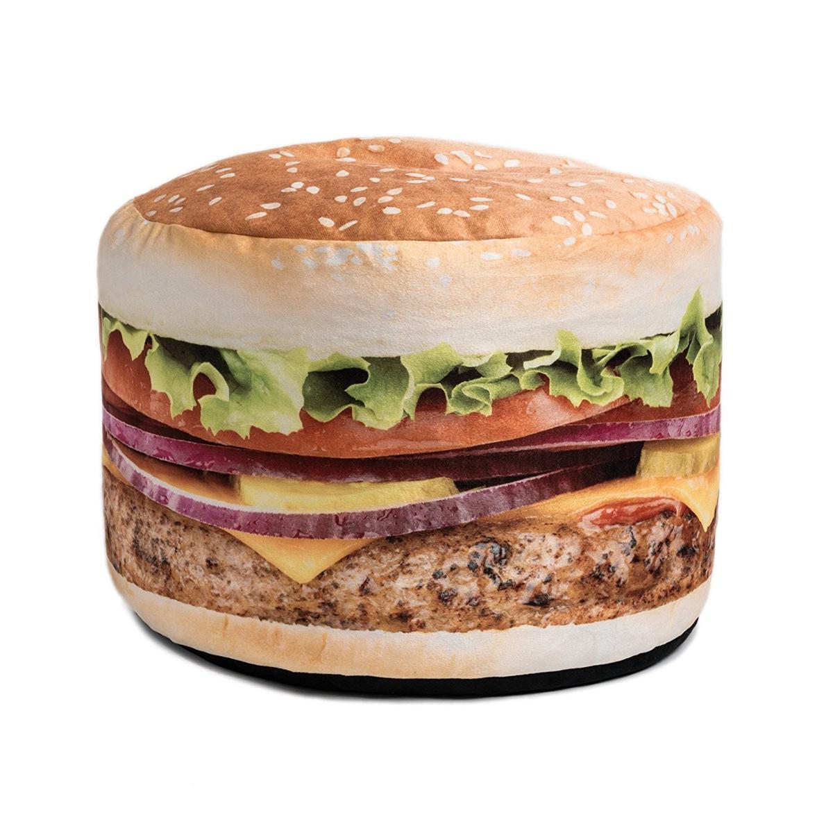 ハンバーガー ビーンバッグチェア ソファ クッション おもしろい インテリア 家具