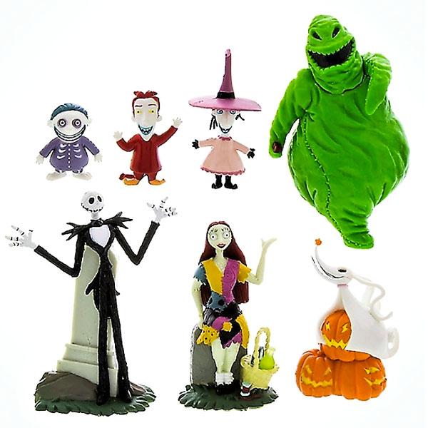 ナイトメアー ビフォア クリスマス フィギュア セット 7体 人形