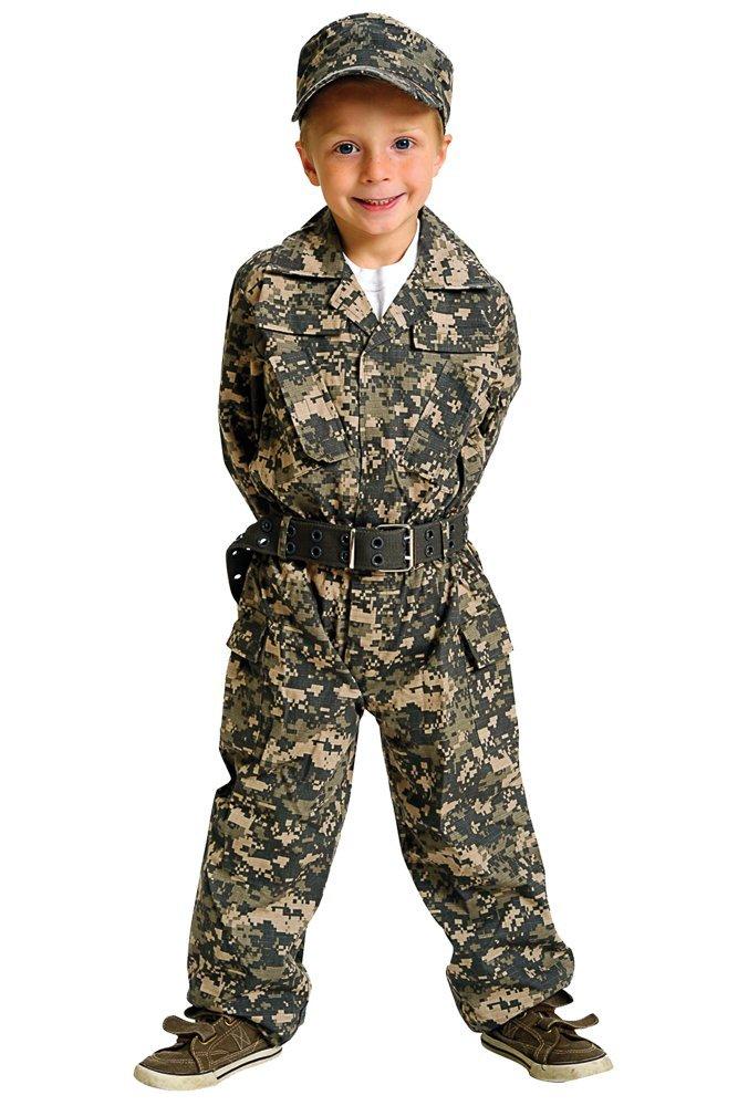 幼児 子供 ミリタリー カモフラージュ 迷彩服 帽子 セット コスプレ コスチューム 仮装 衣装