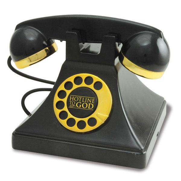 神の御言葉 電話 置き物 飾り 神様 ホットライン 聖書 ギフト プレゼント クリスマス 教会
