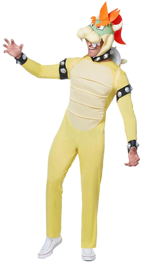 スーパーマリオ ブラザーズ クッパ コスチューム 大人 男性用 衣装 仮装 ハロウィン 任天堂 テレビゲーム