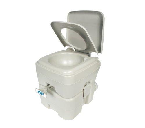 Camco 簡易 ポータブル 携帯 トイレ 5.3ガロン 男性 女性 ユニセックス キャンプ 防災 緊急 旅行 便利 グッズ