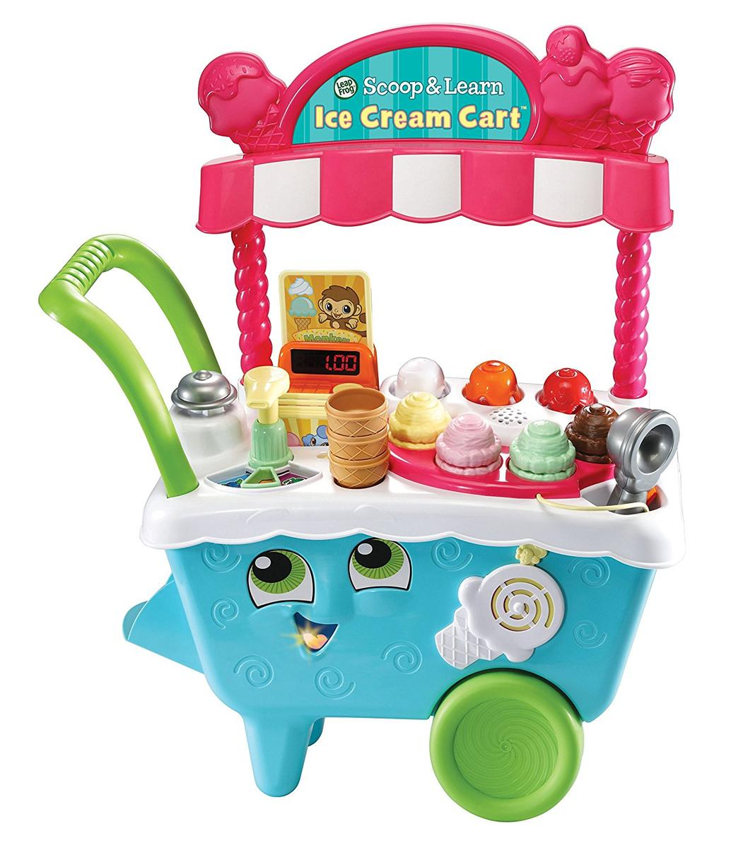 LeapFrog リープフロッグ アイスクリームカート 子供 英語 学習 知育 玩具 海外 ままごと おもちゃ