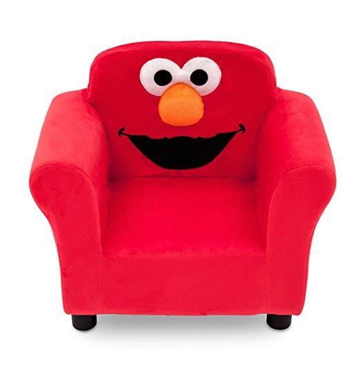 エルモ 椅子 チェア ソファー 子供部屋 インテリア 家具 セサミストリート キャラクター グッズ