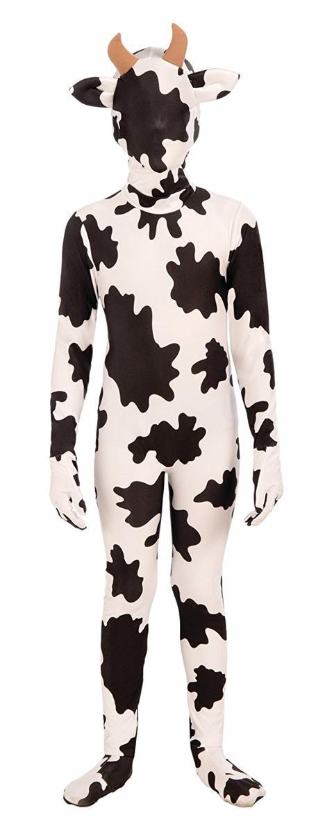 牛 全身タイツ 子供 動物 コスチューム コスプレ 仮装 衣装